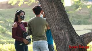 Prank On Couple? In delhi Gone funny || New Prank In India || Suren Ranga