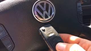 Jetta MK4, Bora. Багажник не открывается с брелка.