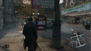 Watch Dogs - Gameplay Walkthrough E3 2012 Demo [HD] (Xbox 360/PS3/PC)