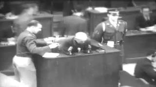 War Crimes Trials (Tojo Defense) Tokyo Japan 01/07/1948 (full)