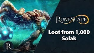 RuneScape - Loot from 1,000 Solak kills
