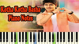 Kotha Kotha Basha (piano notes - music sheet)