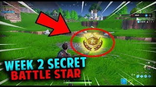Season 10 Week 2 Secret Battle Star Location *REVEALED* (Fortnite Season X)