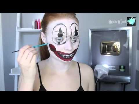 Poltergeist Clown Halloween Makeup Tutorial 2015 Youtube