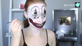 Poltergeist Clown Halloween Makeup Tutorial 2015