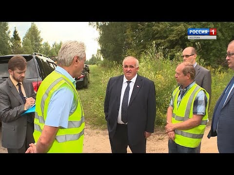 Ход дорожных работ в Костроме и области оценил губернатор Сергей Ситников