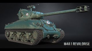 WoT Blitz - Первый взгляд на M4A1 Revalorise - World of Tanks Blitz (WoTB)