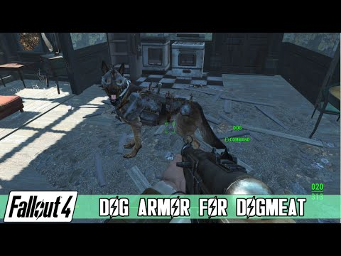 Fallout 4 - Dog Armor for DogMeat