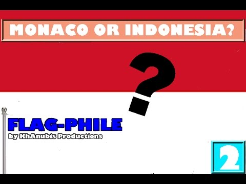 Monaco Atau Indonesia? - Bendera-Phile EP2