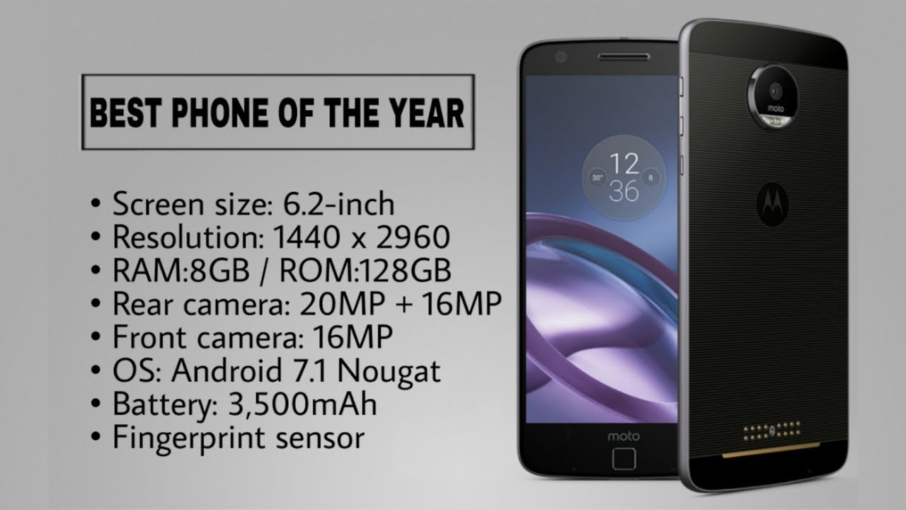 c695ad2f4e38 Best Phones Of The Year 2018 - YouTube