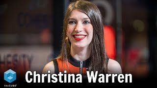 Christina Warren, Microsoft   Microsoft Ignite 2019