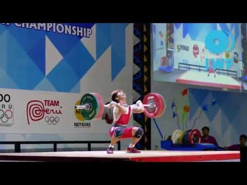 2015 Youth World Championships: m56 Best Lifts
