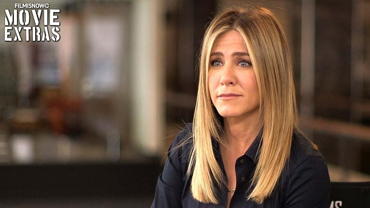 Office Christmas Party   On-set visit with Jennifer Aniston \'Carol ...