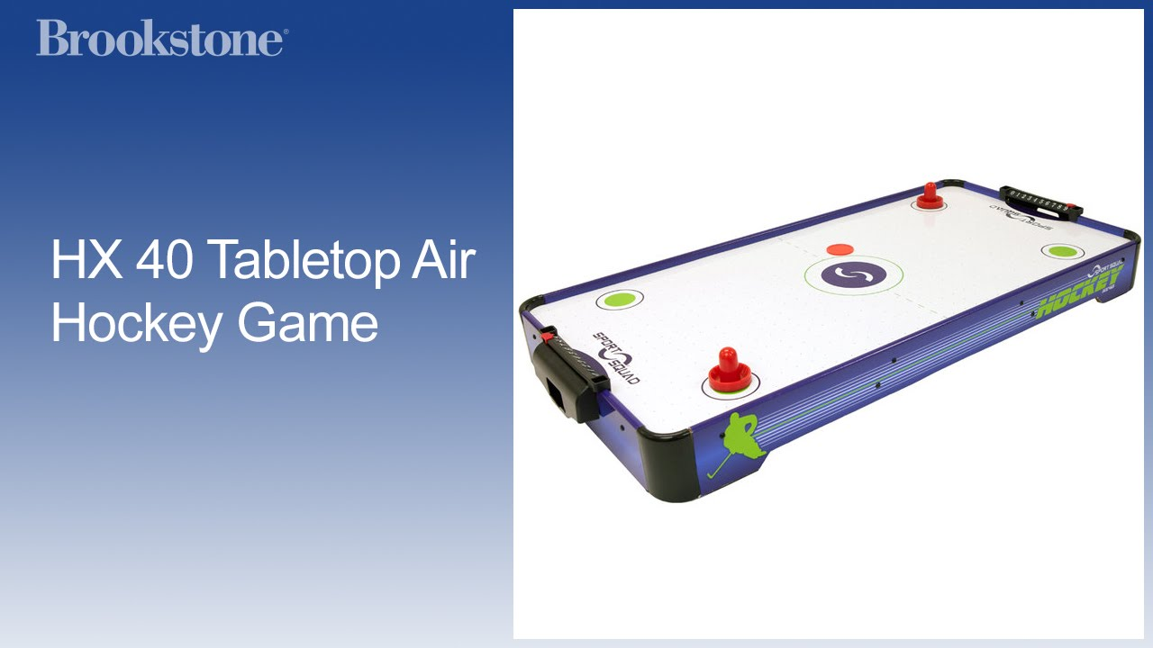 HX 40 Tabletop Air Hockey Game   YouTube