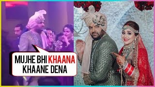 Kapil Sharma Does COMEDY At His Own Wedding Function