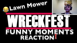 Wreckfest Funny Moments - Lawn Mower Demolition Derby! Reaction