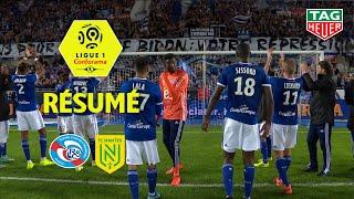 RC Strasbourg Alsace - FC Nantes ( 2-1 ) - Résumé - (RCSA - FCN) / 2019-20