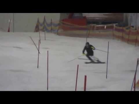 Frederic Andre Slalom in Bormio 2014 @ fisalpine tour.