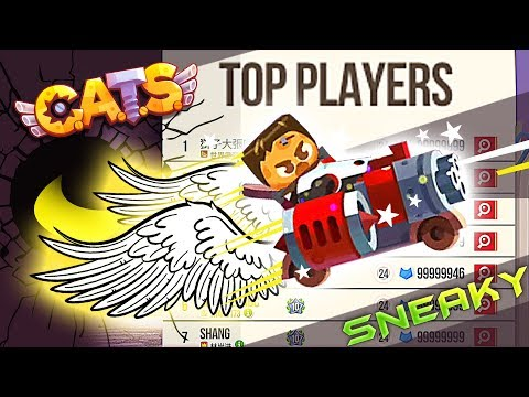 Random 'Top List Fights' with funny Sneaky Build | Cats Game Crash Arena Turbo Star