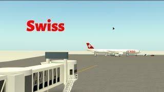 {ROBLOX} Swiss International Airlines | First Class |