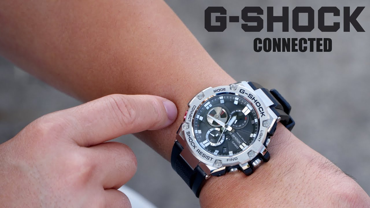 Casio G-Shock G Steel Connected Bluetooth Watch Review! - YouTube 9285f34dd2
