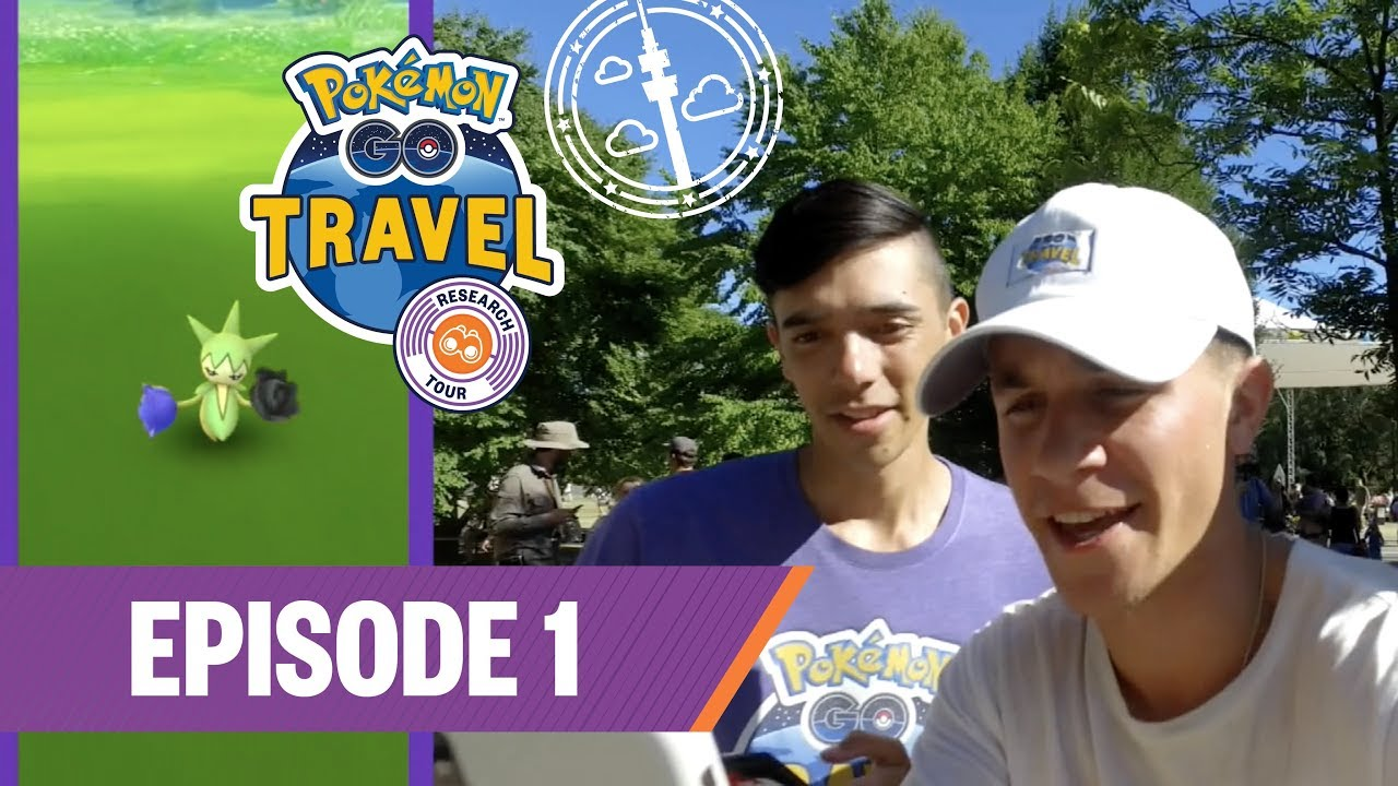 pokémon go travel research