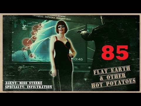 Flat Earth & Other Hot Potatoes 85 with Patricia Steere - Mark Sargent ✅