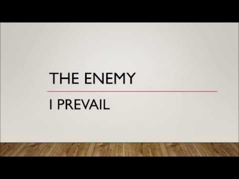 I Prevail - The Enemy (Lyrics)