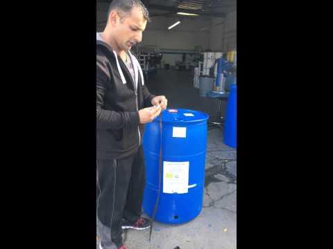 How to Install a Spigot in a 55 Gallon Closed Top Barrel