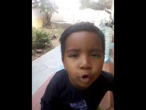 Chinna manushanukkulla by 3year baby