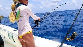 In this Florida Keys fishing video, join us for a day of deep dropp...