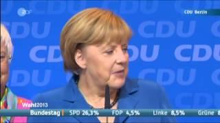 Angela Merkel freut sich - denn wir habens toll gemacht