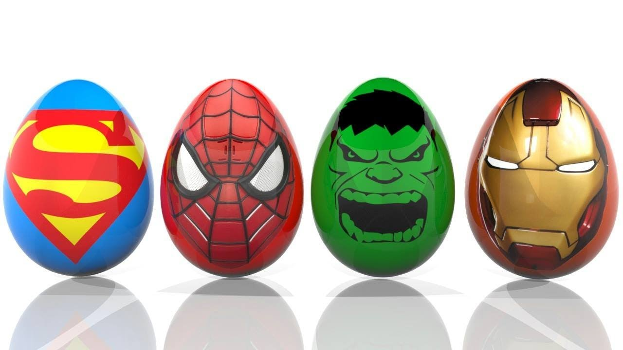 Surprise Eggs Colorful Mcqueen Thor Hammer Colors Learn For Kids Finger Family| Bonny Kids