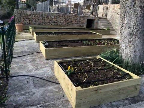 Huerto jardineras de madera youtube - Jardineras de madera ikea ...