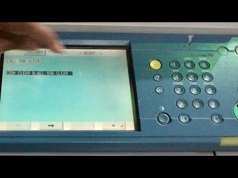 Xerox Machine 3300 how to clear AL...