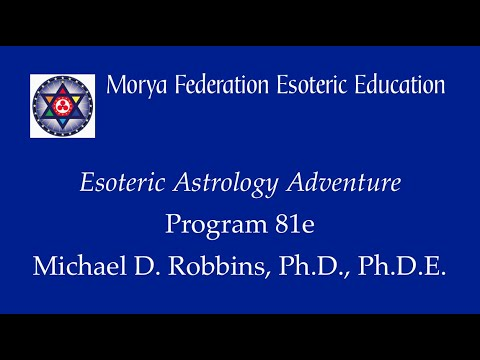 Esoteric Astrology Adventure 81 e