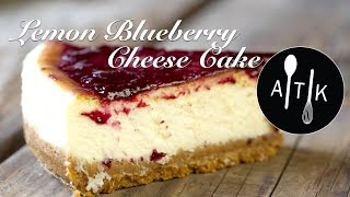 Amoretti Lemon Blueberry Cheese Cake