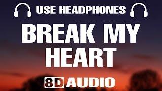 Dua Lipa - Break My Heart (8D Audio)