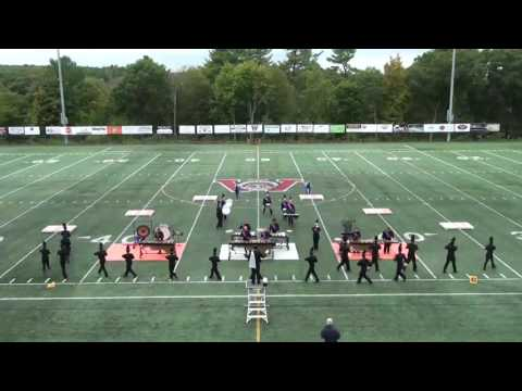 "North Middlesex Regional High School Marching Band ""A Band in Motion"" 10/8/16"