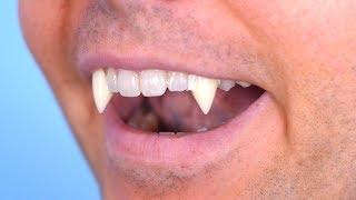 Surprise Vampire Teeth!