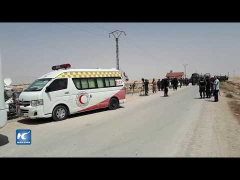 Bombardea ejército sirio posiciones del Estado Islámico al sur de Damasco