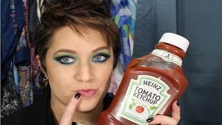 GET RID of COLD SORES with KETCHUP!!!! NO JOKE!! Thumbnail