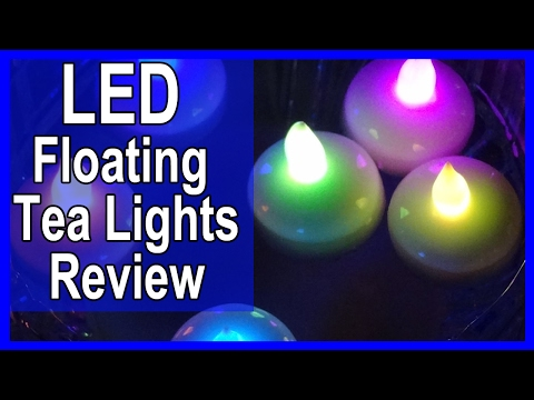 LED Floating Tea Lights, Flameless Candle Review