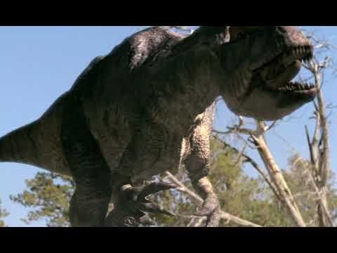 Allosaurus fight - Бой аллозавров [RUS]