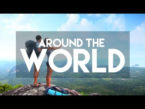 AROUND THE WORLD 8 TIMES // MY TRAVEL TOUR GUIDE