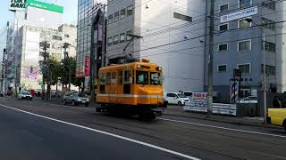 「札幌市電」2017秋ササラ電車11試運転。
