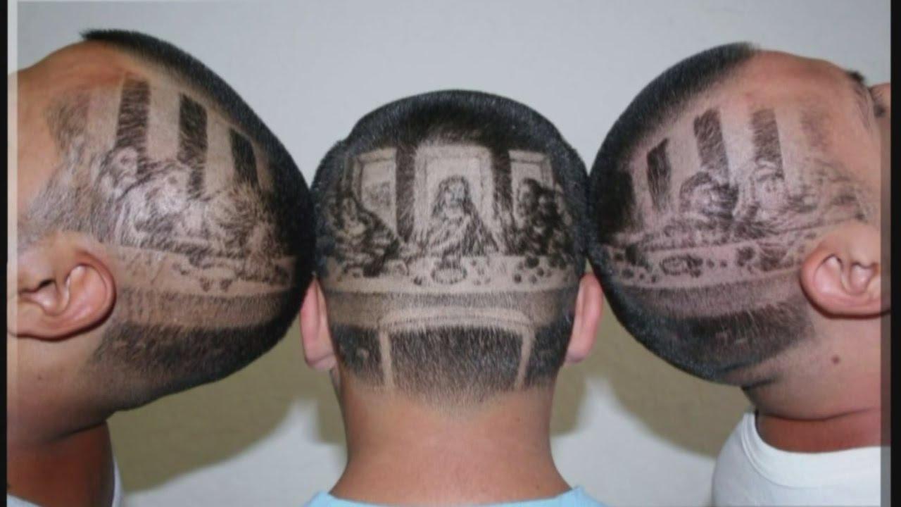 local barber creates masterpiece