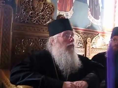 Archbishop Seraphim of Ottawa and Canada at Petru Vodă Monastery
