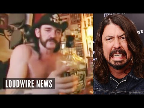 Dave Grohl Recalls Lemmy Kilmister's 'Disgusting' Apartment