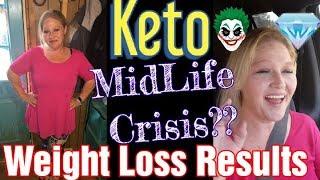 Keto MidLife Crisis? Weight Loss Results,  Keto Meals, Daily Vlog